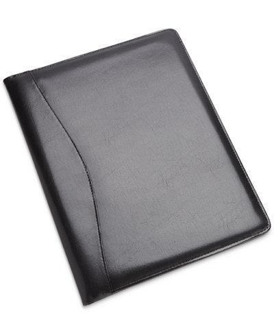 royce leather executive writing padfolio and document organizer