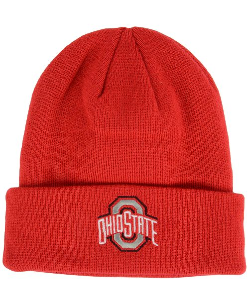 premium selection d3522 6c57b ... discount top of the world ohio state buckeyes campus cuff knit hat  sports 107cb 38e69
