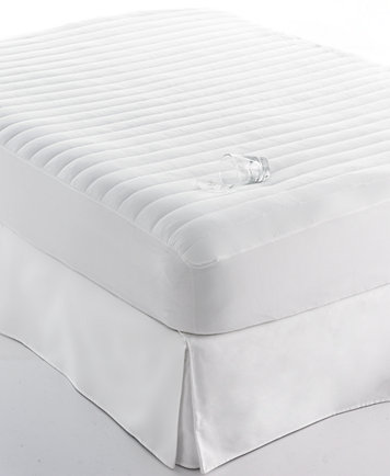 Home Design Waterproof Queen Mattress Pad, Down Alternative Fiber ...