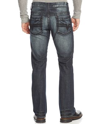 INC International Concepts Men's Gale Modern Bootcut Jeans, Only ...