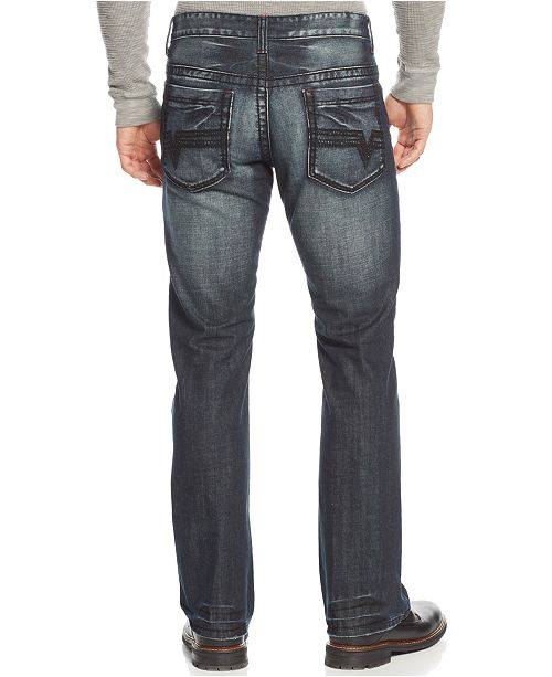 1ab464b155e ... INC International Concepts I.N.C. Men's Modern Bootcut Jeans, Created  for Macy's ...