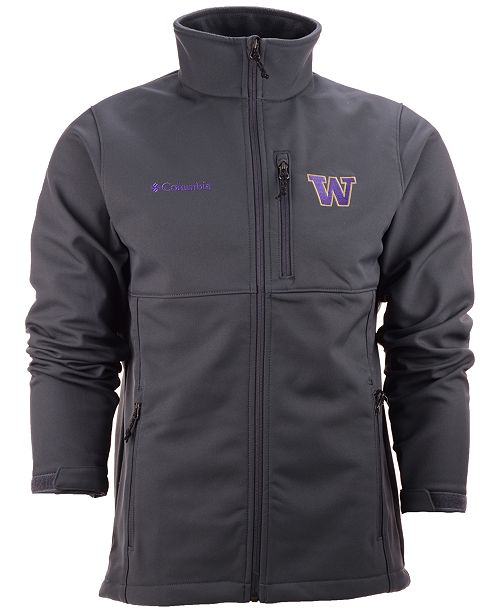 4b43387db ... Columbia Men's Washington Huskies Ascender Softshell Jacket ...