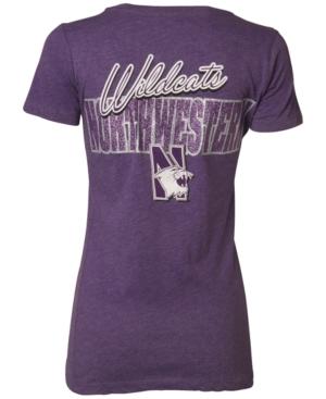 Royce Apparel Inc Women's Short-Sleeve Northwestern Wildcats