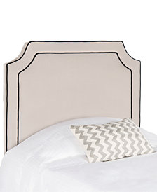 Lyon Upholstered Twin Headboard, Quick Ship