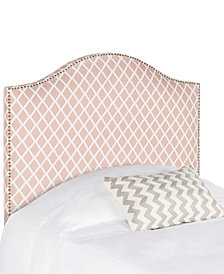 Isla Upholstered Upholstered Twin Headboard, Quick Ship