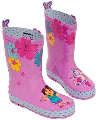 Kidorable Little Girls&39 or Toddler Girls&39 Dora the Explorer Rain