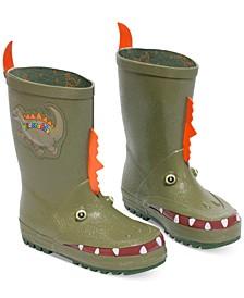 Little Boys' Dinosaur Rain Boots