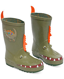 Kidorable Little Boys' Dinosaur Rain Boots