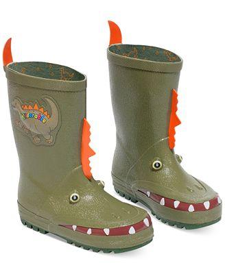 Kidorable Little Boys' Dinosaur Rain Boots - Shoes - Kids & Baby ...