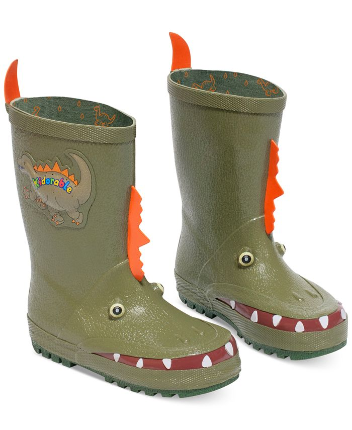 "Kidorable - ""Dinosaur"" Rain Boots"