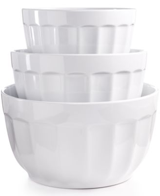 Martha Stewart Collection Set of 6 Melamine Mixing Bowls, Only at ...