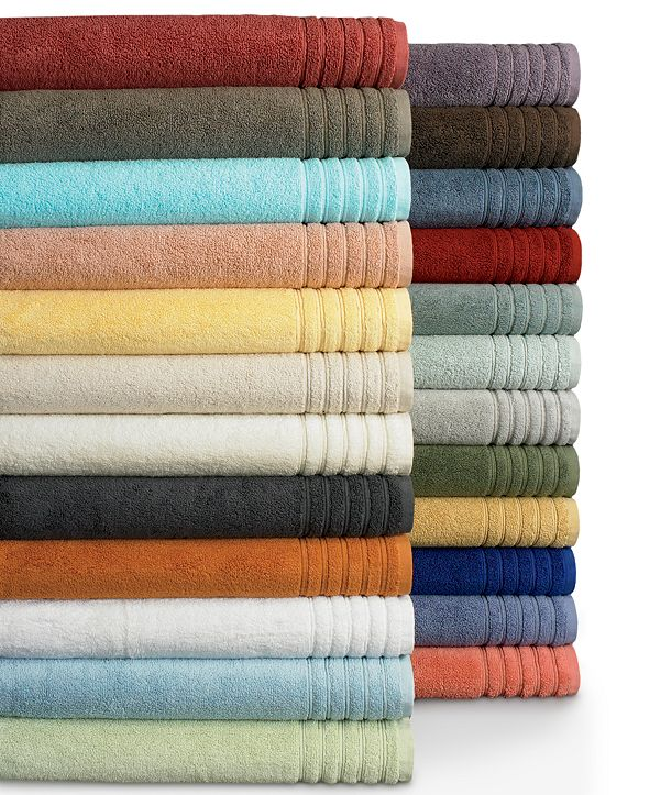 "Hotel Collection  Bath Towels, MicroCotton® 12"" x 13"" Washcloth, Created for Macy's"
