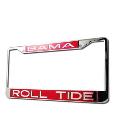 Stockdale Alabama Crimson Tide License Plate Frame - Sports Fan Shop ...