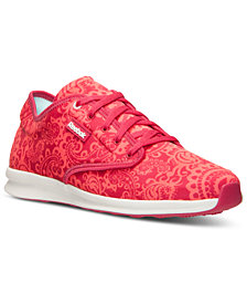 Reebok Women's Skyscape Chase Print Walking Sneakers from Finish Line