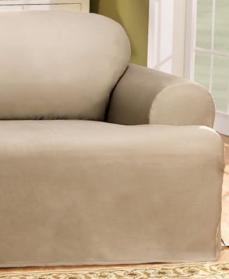 Duck T-Cushion Loveseat Slipcover