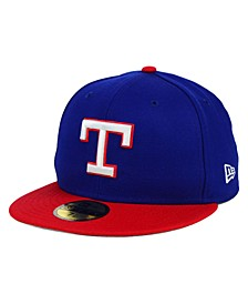 Texas Rangers MLB Cooperstown 59FIFTY Cap