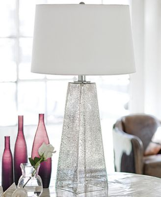 Image 2 Of Regina Andrew Design Stardust Antique Mercury Glass Table Lamp