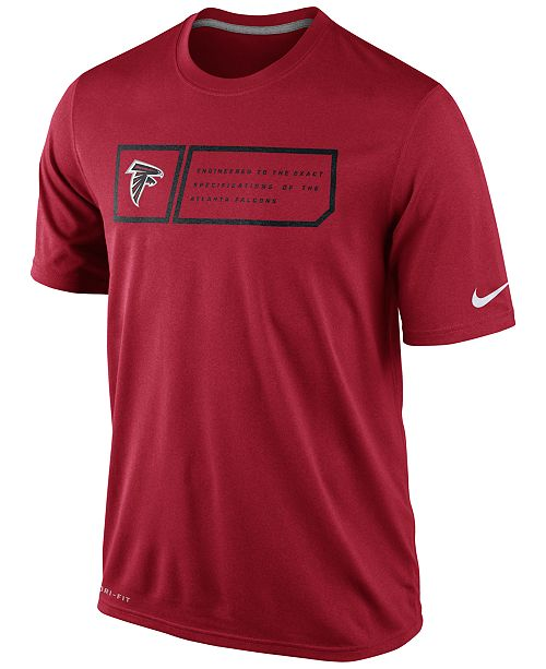 Nike Men's Atlanta Falcons Legend Jock Tag T-Shirt