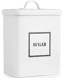 Martha Stewart Collection 16-Cup Vintage-Inspired Food Storage Canister, Created for Macy's