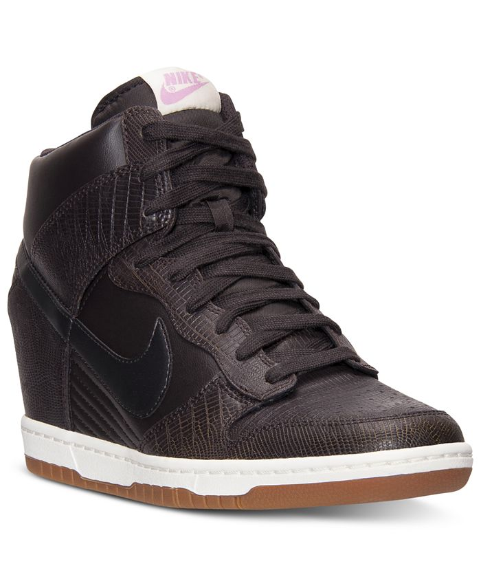 Nike - Women's Dunk Sky Hi Casual Sneakers from Finish Line