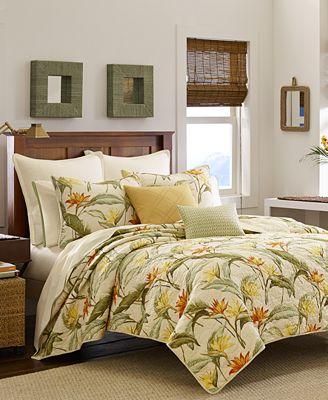 Tommy Bahama Bird Of Paradise Shower Curtain Curtain