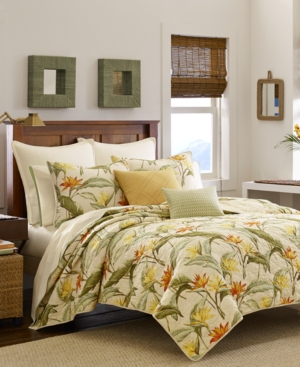 Tommy Bahama Birds of Paradise King Quilt Bedding