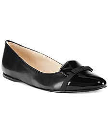 Nine West Saxiphone Smoking Flats