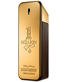 Paco Rabanne Men's 1 Million Eau de Toilette Spray, 3.4 oz.