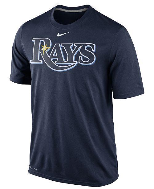 Nike Men's Tampa Bay Rays Legend Wordmark T-Shirt