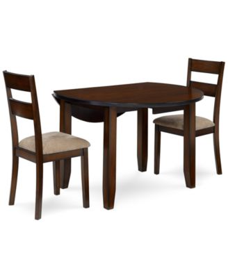 Branton Round 3-Piece Set Table \u0026 2 Chairs  sc 1 st  Macy\u0027s & Branton Round 3-Piece Set Table \u0026 2 Chairs - Furniture - Macy\u0027s