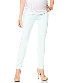 Vigoss Jeans Maternity Skinny Jeans, Mint Wash
