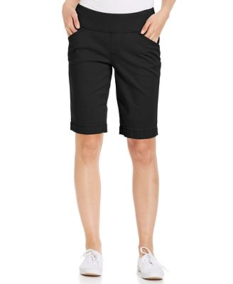 JAG Ainsley Bermuda Pull-On Twill Shorts