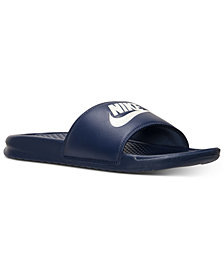 Nike Men's Benassi JDI Slide Sandals from Finish Line