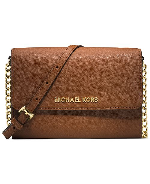 a2b489541 Michael Kors Jet Set Mini Crossbody & Reviews - Handbags ...