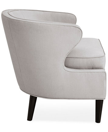 Ludo Fabric Accent Chair Quick Ship Furniture Macy S
