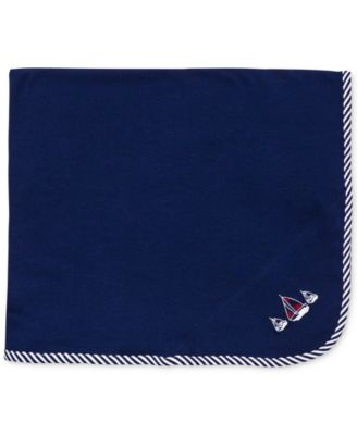 Baby Boys Sailboat Blanket