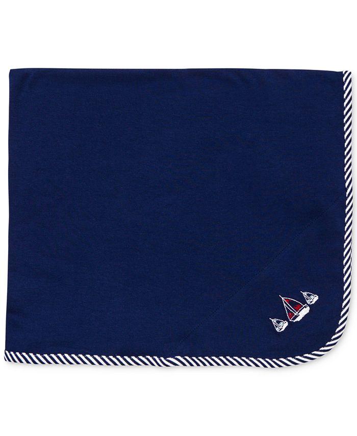 Little Me - Baby Boys' Sailboat Blanket