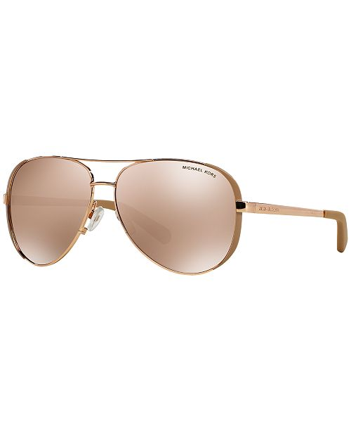 9c69132e347d Michael Kors CHELSEA Sunglasses, MK5004 & Reviews ...
