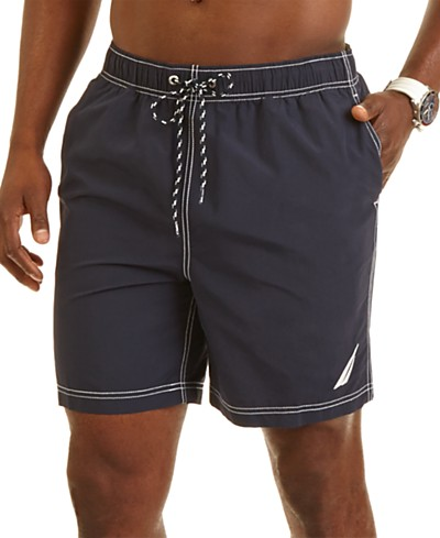 Nautica Big and Tall Men's Mariner 8 1/2 Swim Trunks