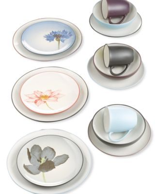 Noritake Dinnerware Colorwave Floral Accent Plate  sc 1 st  Macy\u0027s & Noritake Colorwave Floral Set of 4 Mini Bowls - Dinnerware - Dining ...