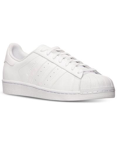 adidas men's superstar casual sneakers