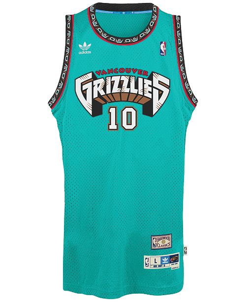 adidas Men s Mike Bibby Vancouver Grizzlies Swingman Jersey - Sports ... 5f2400867a9d