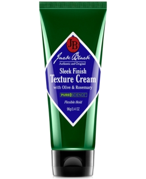 Jack Black Sleek Finish Texture Cream with Olive & Rosemary,