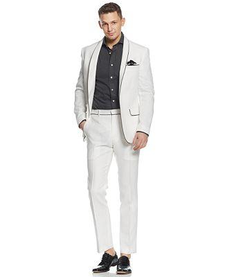 Sean John Linen Blazer & Dress Pants - Suits & Suit Separates ...