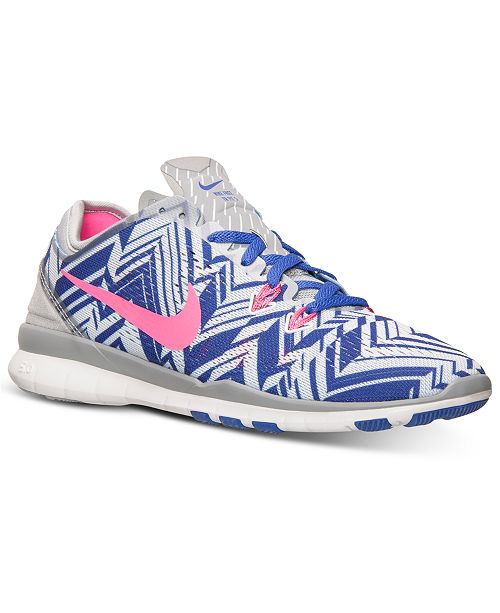 8d6604948e208 Nike. Women s Free 5.0 TR Fit 5 Print Training Sneakers from Finish Line.  35 reviews. main image ...