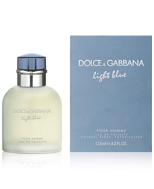 fa6b4a8e1d5 Dolce   Gabbana DOLCE GABBANA Men s Light Blue Pour Homme Eau de Toilette  Spray