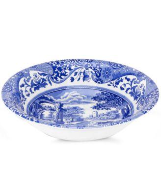 """Blue Italian"" Cereal Bowl"