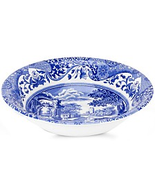 "Spode ""Blue Italian"" Cereal Bowl"