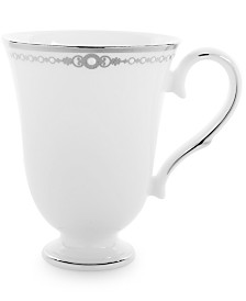 Lenox Pearl Platinum Accent Mug