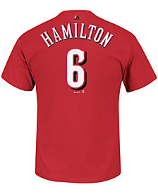 Majestic Men's Billy Hamilton Cincinnati Reds Player T-Shirt